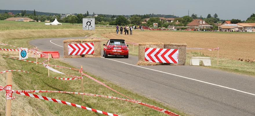 Le parcours du Rallye des Vins Mâcon, manche du championnat de France 2e Division et du championnat de France VHC.