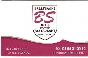 Logo Hôtel Bress Saone