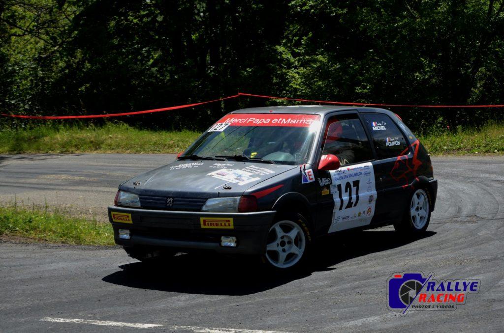 Maxime Michel et Romain Poupon - Peugeot 106 XSi - classe N1