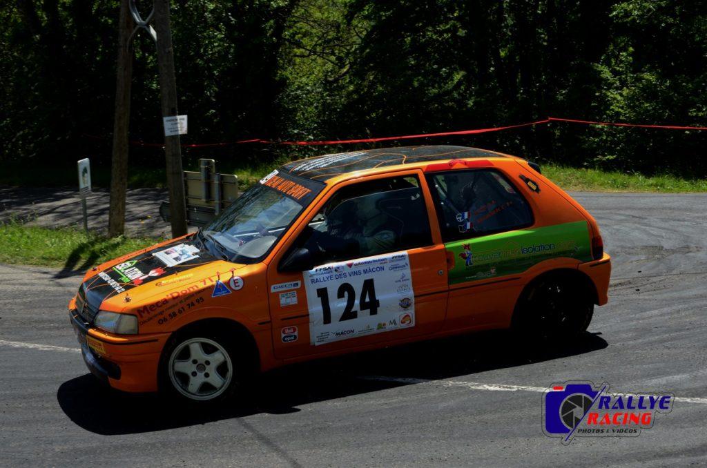 Baptiste Ortolo et Cédric Ballandras - Peugeot 106 XSi - Classe N1
