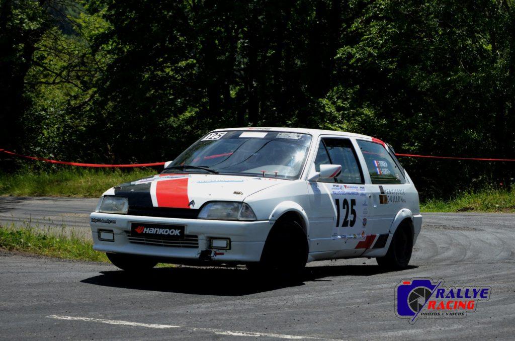 Flavien et Alexandre Rognon - Citroën AX GTI - classe N1 - Photo Alexis Augey.